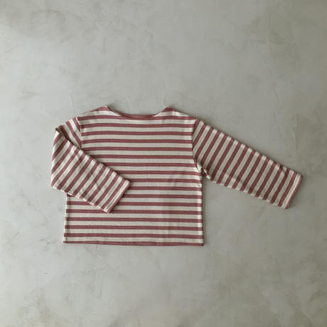 French Antique Border Pullover・RED