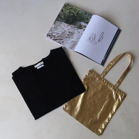 MOIST OVER-T BAG SET   (BLACK×GOLD)