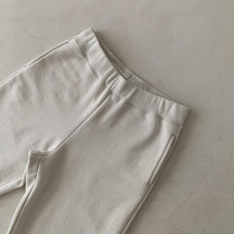 DRY COTTON PLANE SWEAT PANTS/ CERAMIC  ECRU