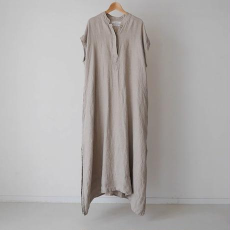 LINEN TWILL ANMBIENCE  DRESS/GRAYGE