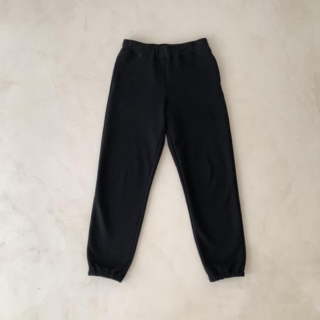 DRY COTTON PLANE SWEAT PANTS / DEEP  BLACK