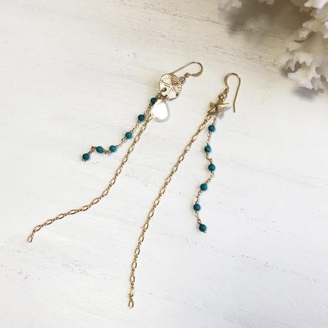 Turquoise Long Pierce