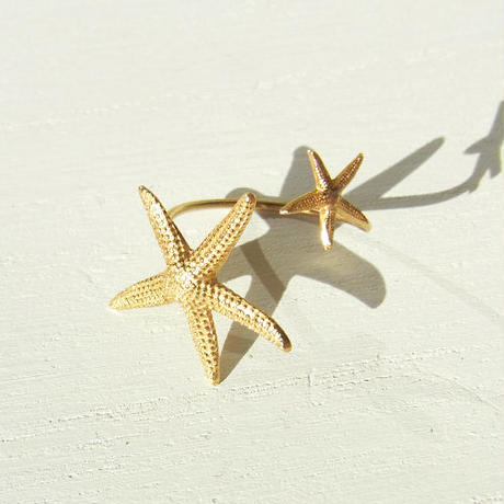 Double Starfish Ring -A-