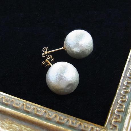 Cotton pearl Pierce -12mm-