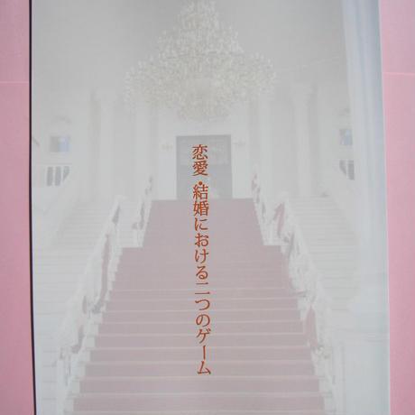 恋愛結婚における二つのゲーム             (B5冊子)