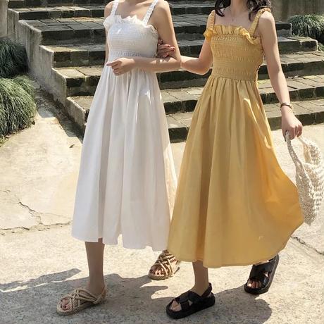 ノースリーブホリデービーチドレス