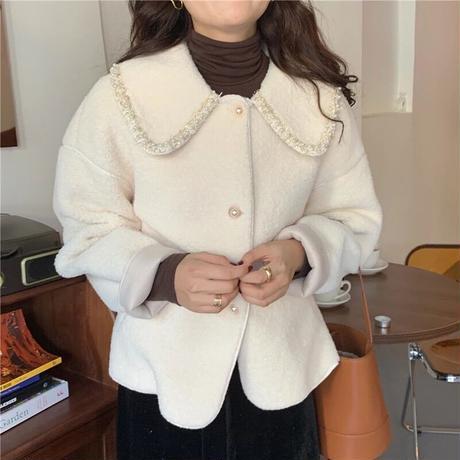 フェミニンパールジャケット