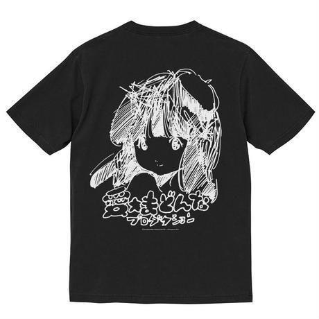 手描きロゴT (黒)  / DRAWING LOGO-T (BLACK)
