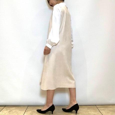 【Coomb/クーム】フェイクスエードのジャンパースカート