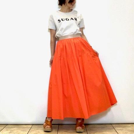 【Apaiser lame/アペゼラム】コットンフレアスカート