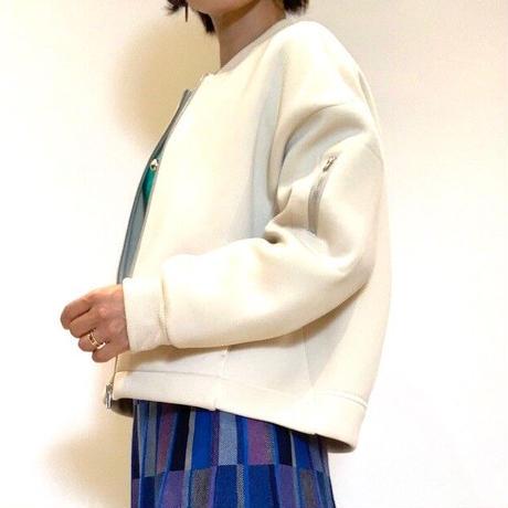 【Mylanka/ミランカ】ボンディングショートブルゾン