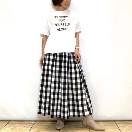 【MICA&DEAL/マイカアンドディール】ドルマンロゴTシャツ