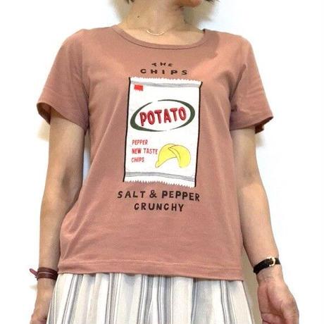 【ATELIER SIX/アトリエシックス】POTATO CHIPS Tシャツ