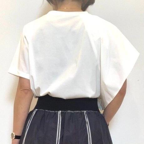 【Mia asterism/ミーアアステリズム】アシンメトリーカットソー