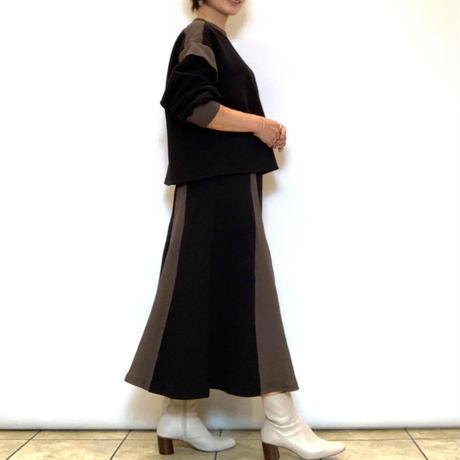 【Mylanka/ミランカ】ボンディングフレアスカート