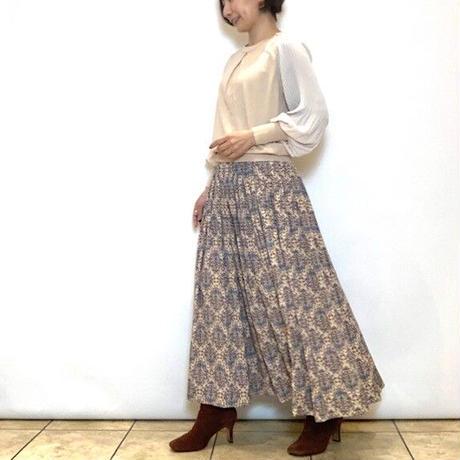 【BEATRICE/ベアトリス】プリントギャザースカート