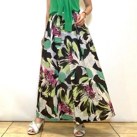 【Coomb/クーム】フラワープリントスカート