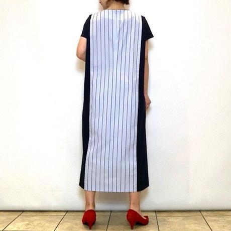 【FIGNO/フィグノ】コンビネーションシャツワンピース