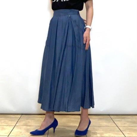 【C'EST MOJIEU/セモワージュ】テンセルデニムのフレアースカート
