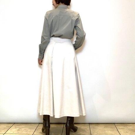 【HERENCIA/ヘレンチア】フリンジ付きラップスカート