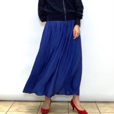 【DONEEYU/ドニーユ】ヴィンテージサテンスカート