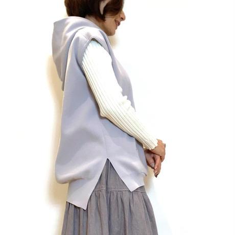 【PASSIONE/パシオーネ】フード付きベスト
