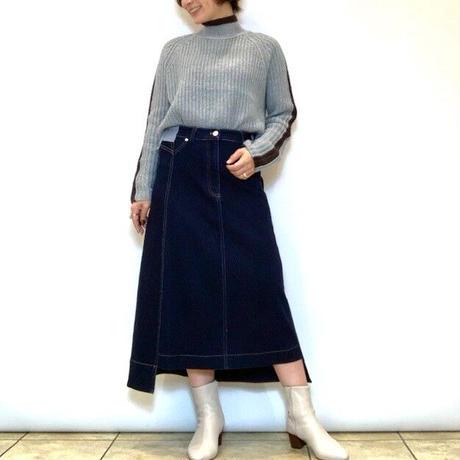【Mia asterism/ミーアアステリズム】ストレッチデニムスカート