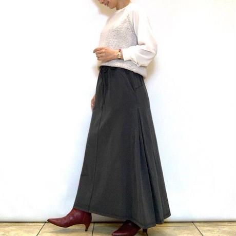 【Coomb/クーム】サイドタックジャージーマキシスカート