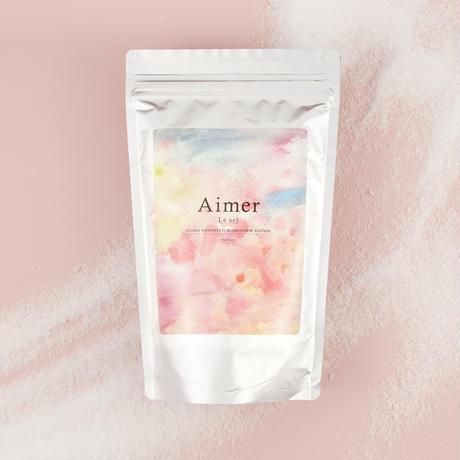 【Le sel】エプソムソルト入浴剤(ヒヤシンス+プルメリアの香り)【ご注文から10日前後で発送予定】
