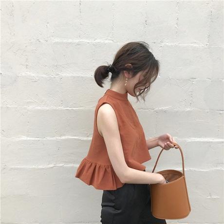 short design sleeveless