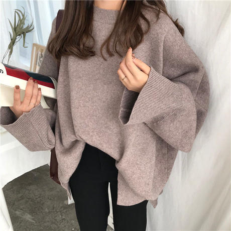 loose girly knit