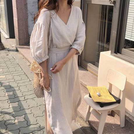 【再入荷】sweet fall dress