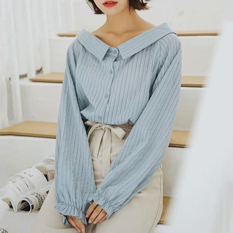pastel stripe shirts