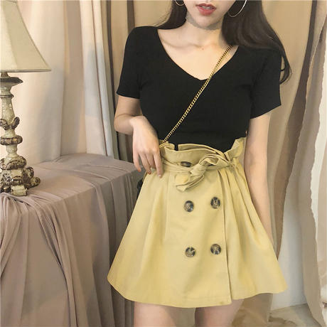 lady trench skirt