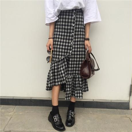 frill design skirt