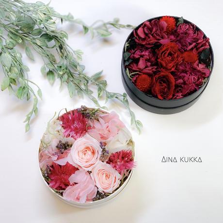 [Flower Box・Ssize]カラー2種/プリザーブドフラワー