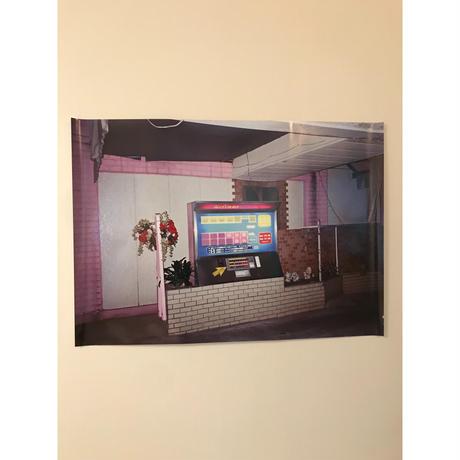 アイネ ポスター (展示品) ラブホテル フロント