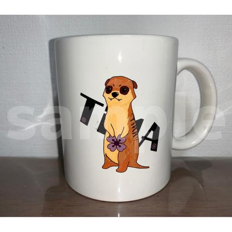 TiИA マグカップ