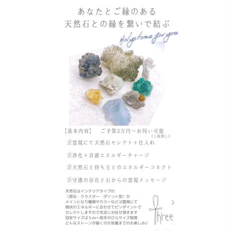 【M様専用】Holy stone for you