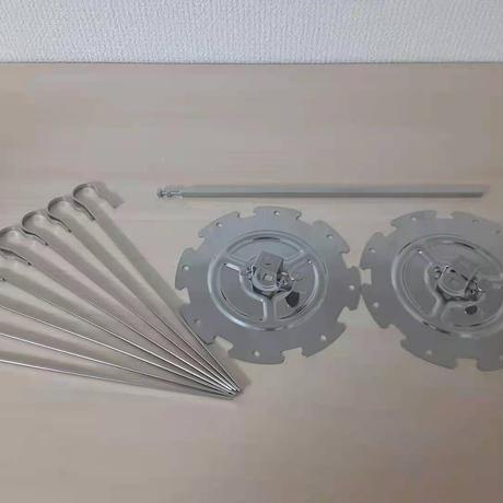 【送料込パーツ単品販売】ロティサリー マルチ オーブン/Rotisserie Multi Oven (AX-K3B対応) BBQセット ※ロティサリーバー付き