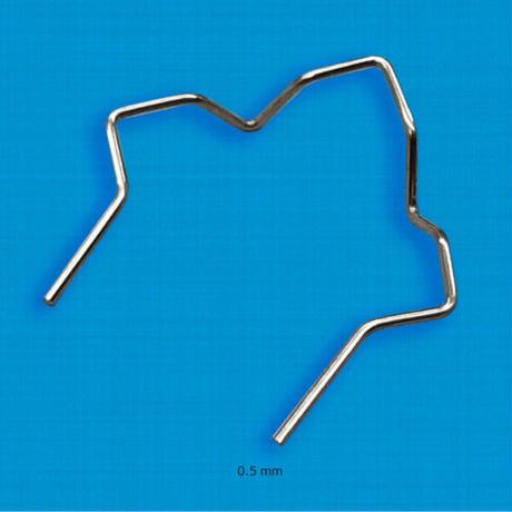 HRK用電熱ピン 直角ピンΦ0.5