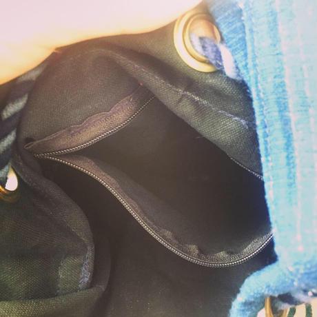 ぐるぐるプリントボンボンショルダーバッグ