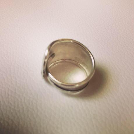 カレンシルバー simple western ring