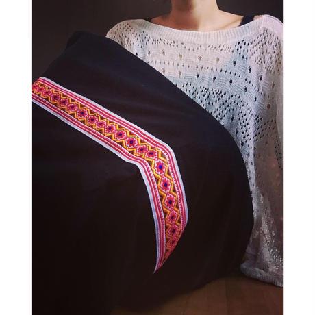 民族巻きスカート