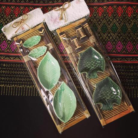 タイ小皿・お箸・箸置きset