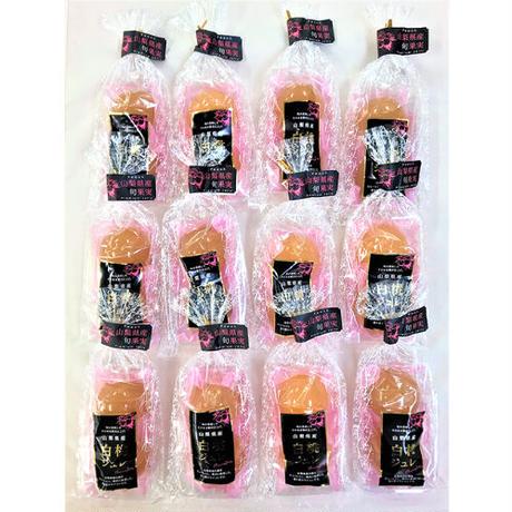 山梨産白桃ジュレ2個入×12袋