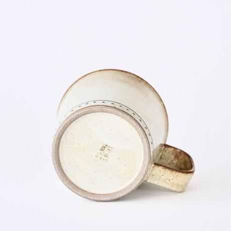 ブロンズ マグカップ 白銅