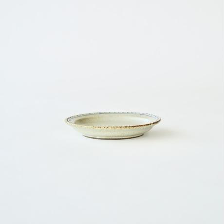 ブロンズ 11cmプレート 白銅