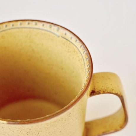 ブロンズ マグカップ 黄銅