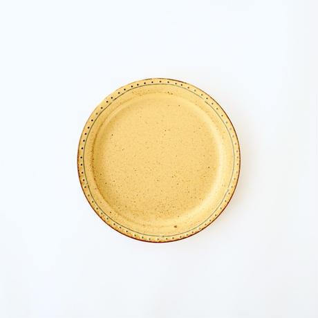 ブロンズ 15cmプレート 黄銅